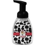 Cowprint w/Cowboy Foam Soap Dispenser (Personalized)