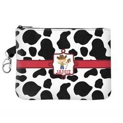 Cowprint w/Cowboy Golf Accessories Bag (Personalized)