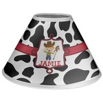 Cowprint w/Cowboy Coolie Lamp Shade (Personalized)