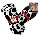 Cowprint w/Cowboy Neoprene Oven Mitt (Personalized)