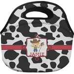 Cowprint w/Cowboy Lunch Bag (Personalized)