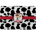 Cowprint w/Cowboy Comfort Mat (Personalized)