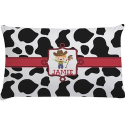 Cowprint w/Cowboy Pillow Case (Personalized)