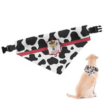 Cowprint w/Cowboy Dog Bandana (Personalized)