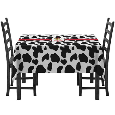 Cowprint w/Cowboy Tablecloth (Personalized)