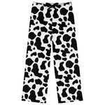 Cowprint w/Cowboy Womens Pajama Pants (Personalized)