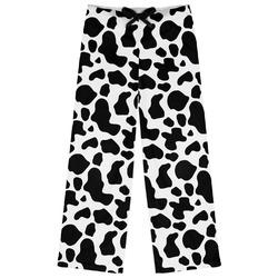 Cowprint w/Cowboy Womens Pajama Pants (Personalized)
