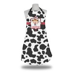 Cowprint Cowgirl Apron (Personalized)
