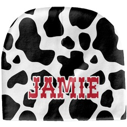 Cowprint Cowgirl Baby Hat (Beanie) (Personalized)