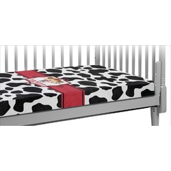 Cowprint Cowgirl Crib Fitted Sheet (Personalized)