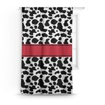 Cowprint Cowgirl Curtain (Personalized)