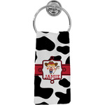 Cowprint Cowgirl Hand Towel - Full Print (Personalized)