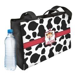 Cowprint Cowgirl Ladies Workout Bag (Personalized)