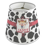 Cowprint Cowgirl Empire Lamp Shade (Personalized)