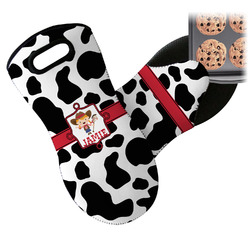 Cowprint Cowgirl Neoprene Oven Mitt (Personalized)