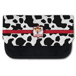 Cowprint Cowgirl Canvas Pencil Case w/ Name or Text