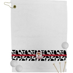 Cowprint Cowgirl Golf Towel (Personalized)