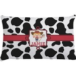 Cowprint Cowgirl Pillow Case (Personalized)
