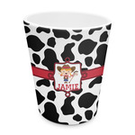 Cowprint Cowgirl Plastic Tumbler 6oz (Personalized)