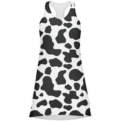 Cowprint Cowgirl Racerback Dress (Personalized)
