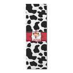 Cowprint Cowgirl Runner Rug - 3.66'x8' (Personalized)