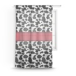 Cowprint Cowgirl Sheer Curtains (Personalized)