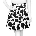 Cowprint Cowgirl Skater Skirt (Personalized)