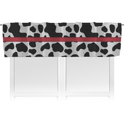 Cowprint Cowgirl Valance (Personalized)