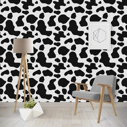 Cowprint Cowgirl Wallpaper & Surface Covering