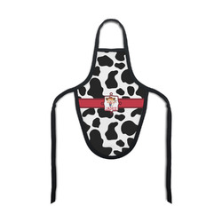 Cowprint Cowgirl Bottle Apron (Personalized)
