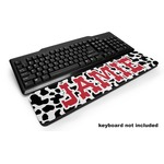 Cowprint Cowgirl Keyboard Wrist Rest (Personalized)