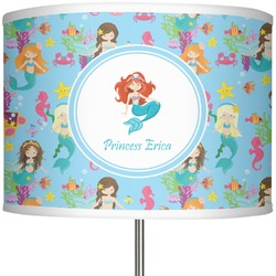 "Mermaids 13"" Drum Lamp Shade (Personalized)"
