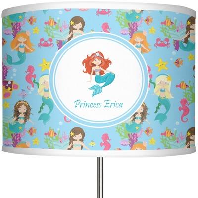"Mermaids 13"" Drum Lamp Shade (Personalized)"