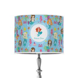 "Mermaids 8"" Drum Lamp Shade - Poly-film (Personalized)"