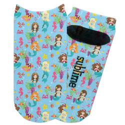 Mermaids Adult Ankle Socks (Personalized)