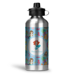 Mermaids Water Bottle - Aluminum - 20 oz (Personalized)