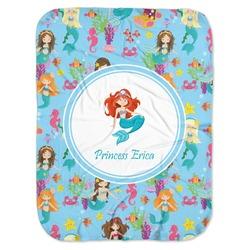 Mermaids Baby Swaddling Blanket (Personalized)
