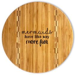 Mermaids Bamboo Cutting Board (Personalized)