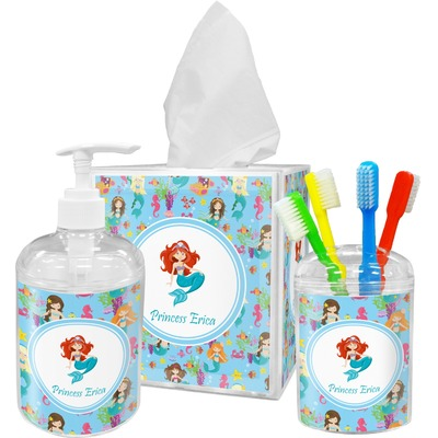 Mermaids Bathroom Accessories Set (Personalized)