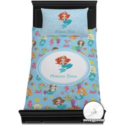 Mermaids Duvet Cover Set - Toddler (Personalized)