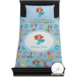 Mermaids Duvet Cover Set - Twin XL (Personalized)
