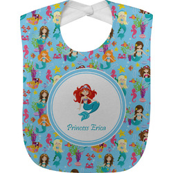 Mermaids Baby Bib (Personalized)