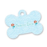 Mermaids Bone Shaped Dog Tag (Personalized)