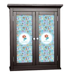 Mermaids Cabinet Decal - Custom Size (Personalized)