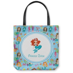 "Mermaids Canvas Tote Bag - Small - 13""x13"" (Personalized)"