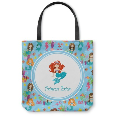 Mermaids Canvas Tote Bag (Personalized)