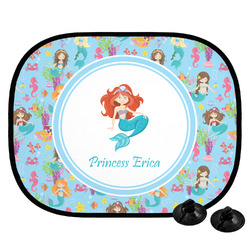 Mermaids Car Side Window Sun Shade (Personalized)