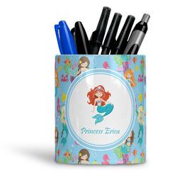 Mermaids Ceramic Pen Holder
