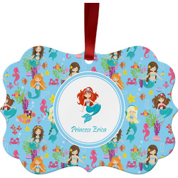 Mermaids Ornament (Personalized)