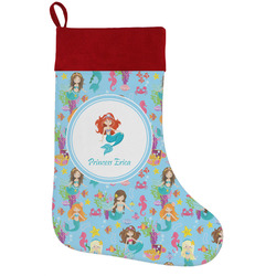 Mermaids Holiday / Christmas Stocking (Personalized)